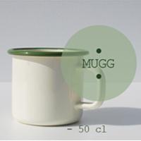 Emalj Mugg